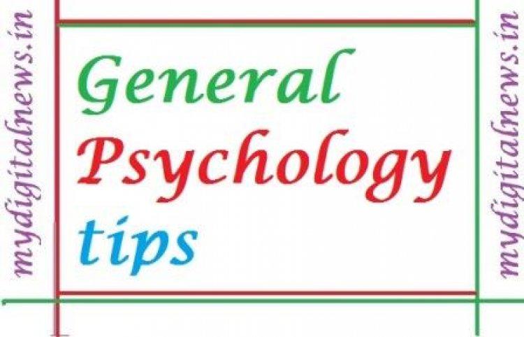 Psychology tips