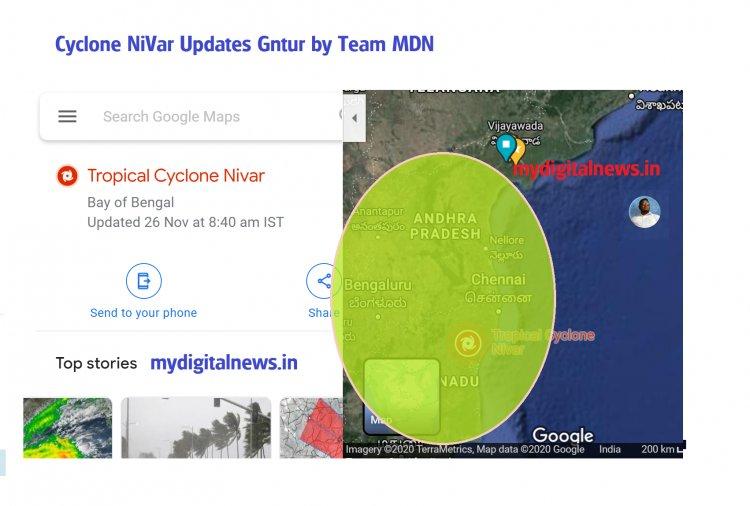 Cyclone Nivar - its impact 30000 people TN 7000 Pudu says NDRF