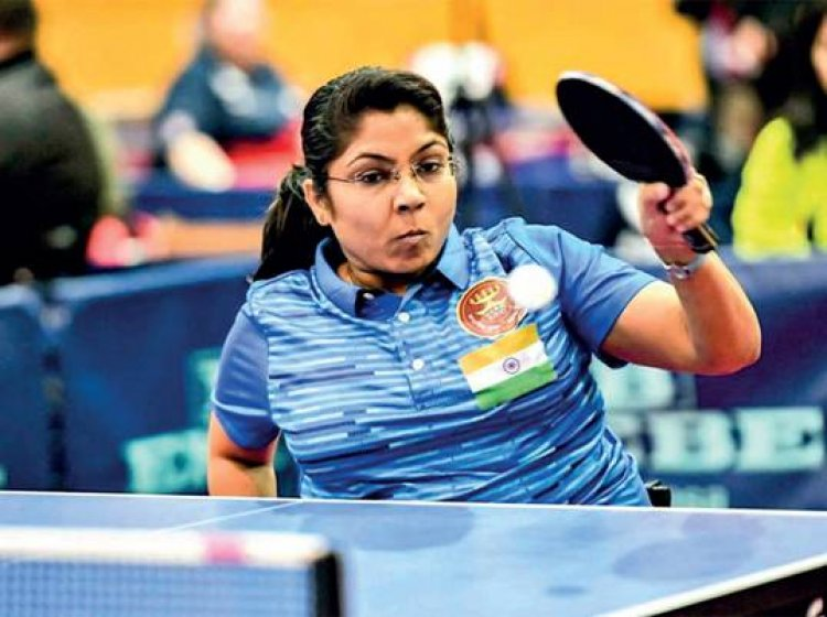 TOPS sanctions specialised equipment for Para Table Tennis player Bhavina Patel