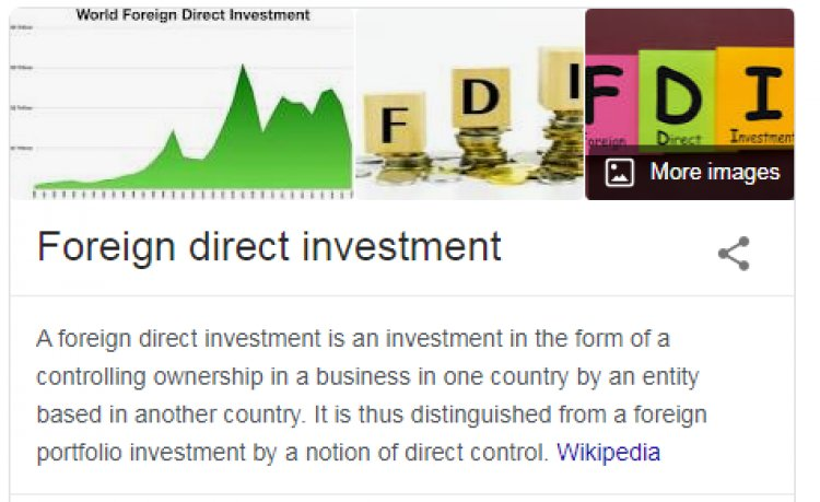 Flow of Foreign Direct Investments India -FDI inflows in the country