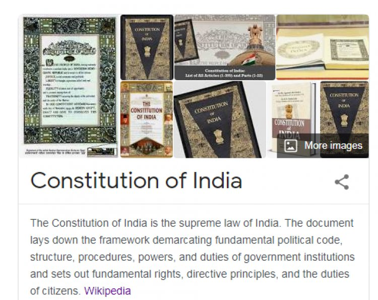 List of amendments of the Constitution of India up to date