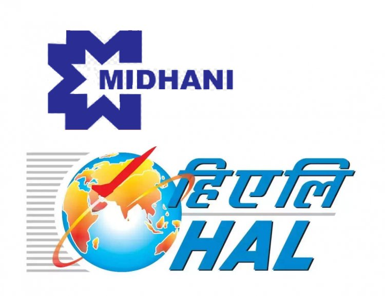HAL signs MoU with MIDHANI to develop and manufacture composite raw materials