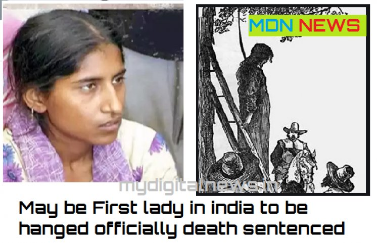 Mathurai jail settingready to hang a woman for the first time in independance india