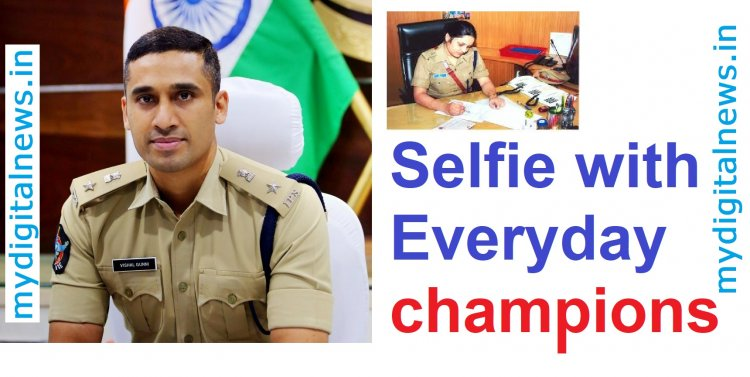 Selfie with Everyday champion's