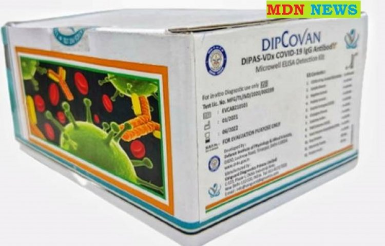 Ministry of Defence: DRDO develops COVID-19 antibody detection kit