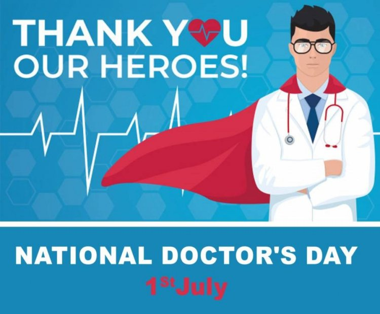 Saluting the real heroes: Prakasam Police: National Doctors Day