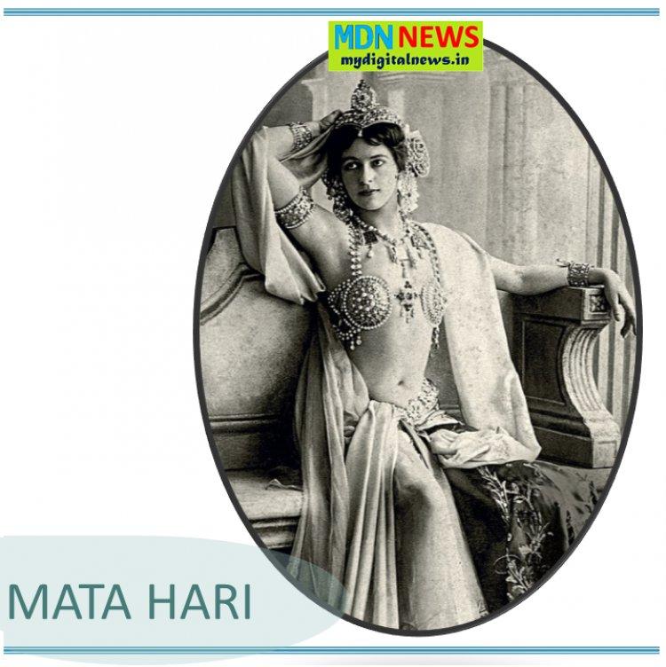 Career of Mata Hari from Dancer to Spy