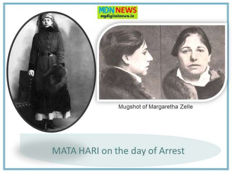 Trial, Scapegoat, Execution and After math of MATA HARI