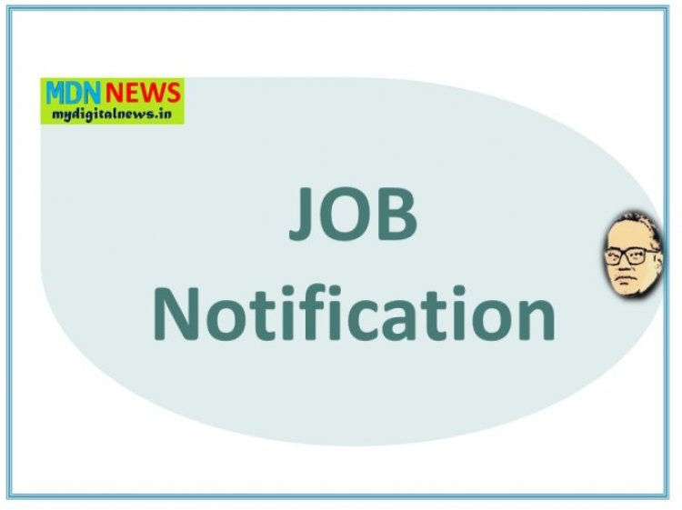 Post of Medical Officers (MBBS) to work in Urban Primary Health Centres