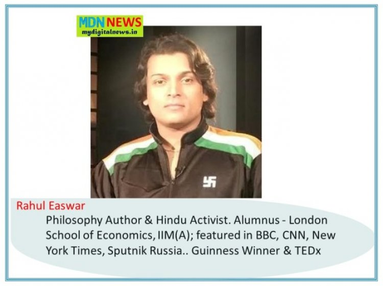 A Trip Back in Time: How People Talked About Rahul Easwar Before 2021