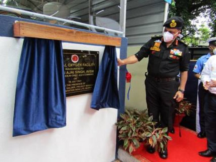 Ministry of Defence: Oxygen generation facility inaugurated at INHS Dhanvantari, Port Blair
