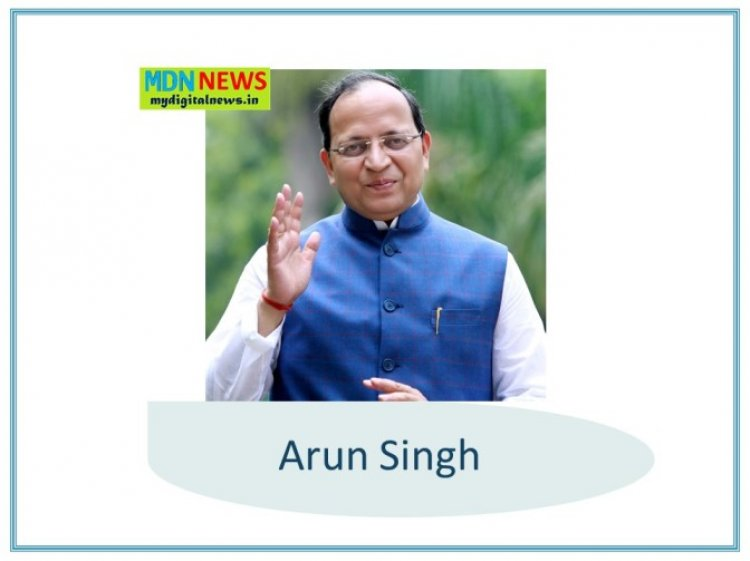 Arun Singh : Journey and Biography