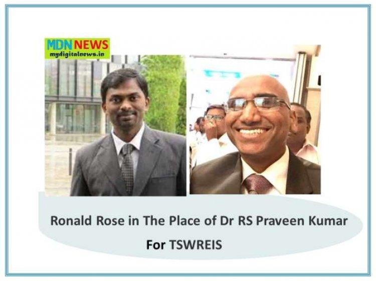 KCR appoints Special Secretary Finance Ronald Rose, IAS