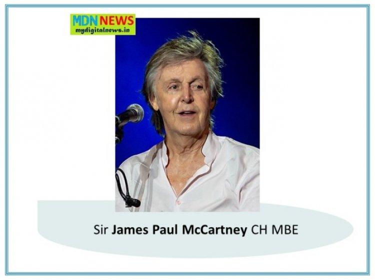 Patrick Brauckmann : Remembering of Paul McCartney's Vegeratiansim