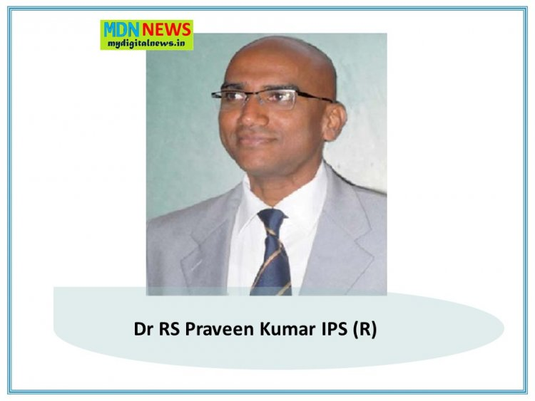 VRS: Dr Praveen Kumar IPS: The Man Who Spent every Minute for the welfare of Poor and Social Change Now Took VRS