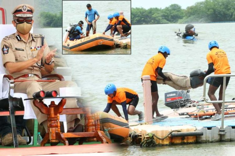 APSDRF Mock Drill: Courage & mental resilience in the face of danger: AP DGP Gautham Swang