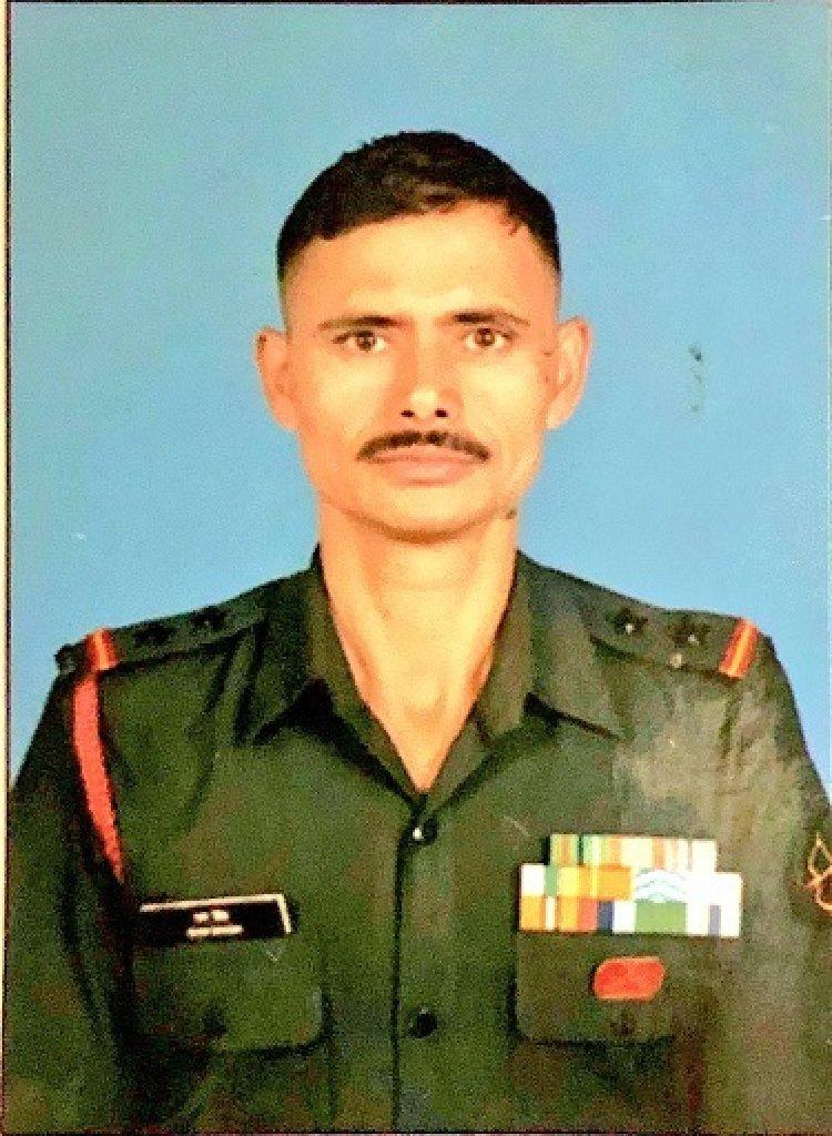 Tears for the brave soldier - Subedar Ram Singh JCO 19-aug 2021