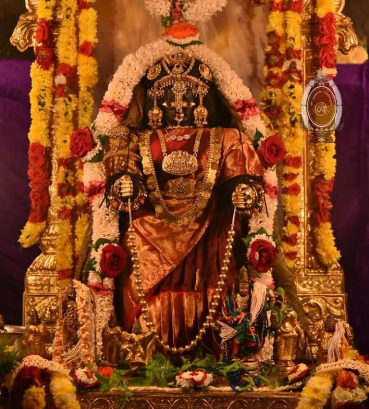 Udupi Sri Krishna Matha As Vralakshmi avathar in 2021 Varalskhmi Pooja