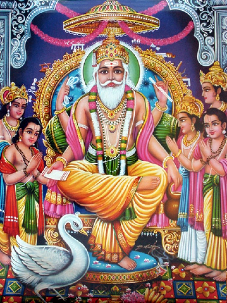 VishwaKarma: Builder of Temples, God Of construction, power factor of Dieties