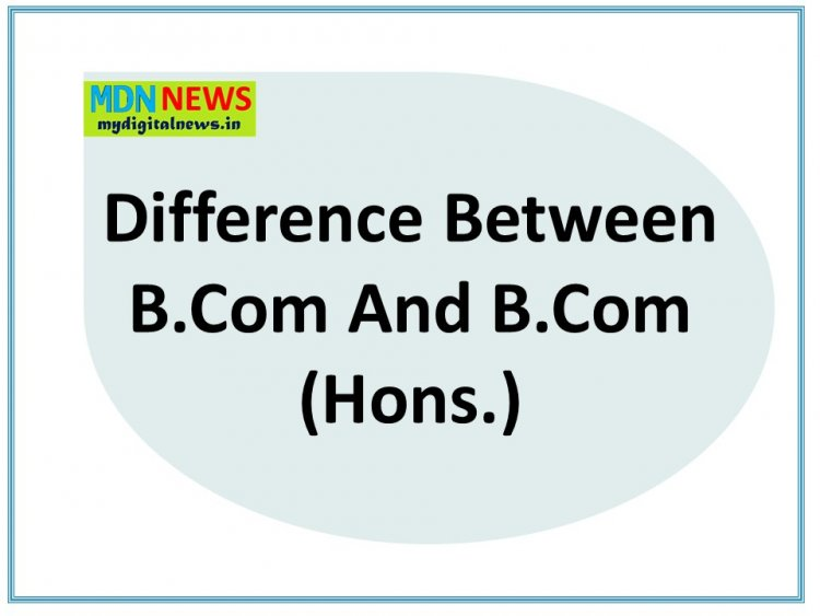 7 Stupid Questions Asked Before Knowing Difference Between B.Com And B.Com (Hons.)