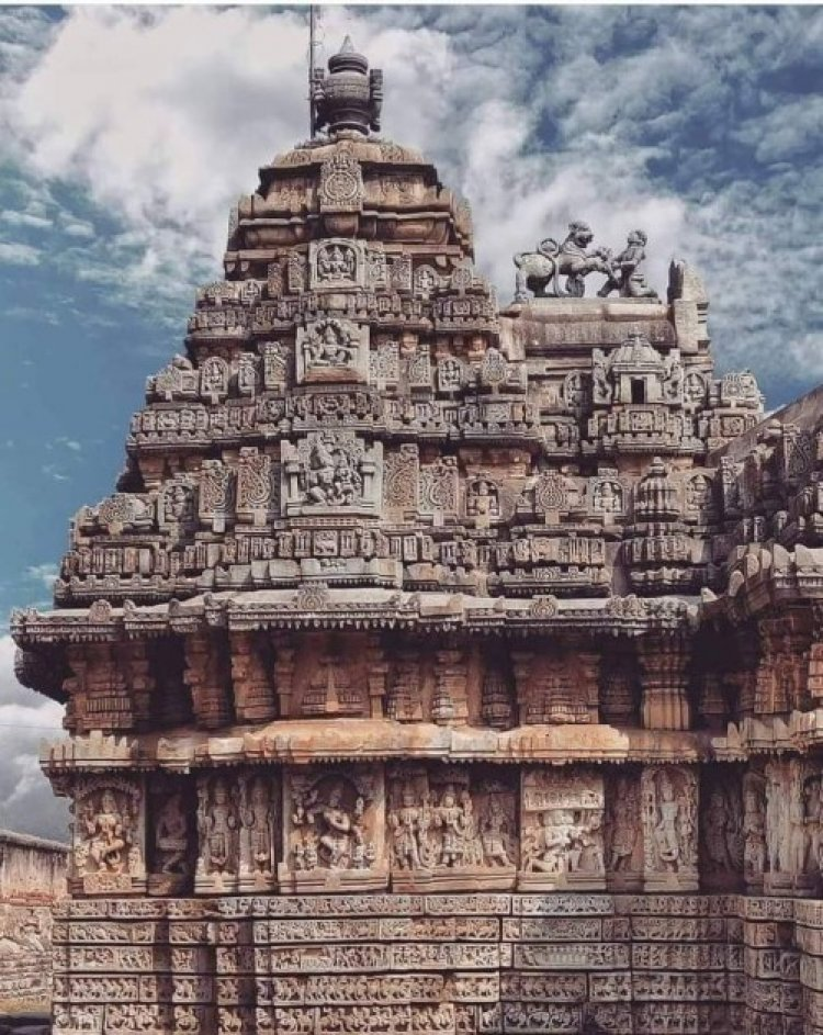 Decoration and sculptures and Interesting Facts and History of Mallikarjuna Temple, Basaralu