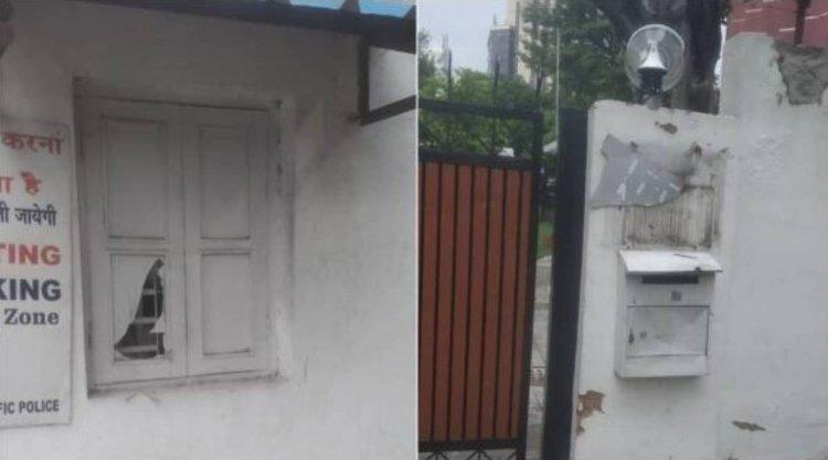 Attack on Azaduddin Owaisi's Delhi home; 5 members of Hindu Sena arrested