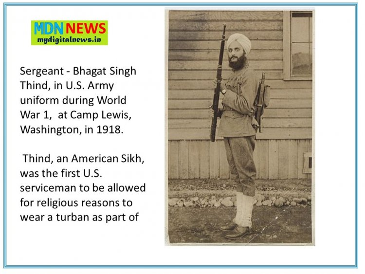 Forgotten Facts about & the Death of Bhagat Singh Thind From the Era of World war 1